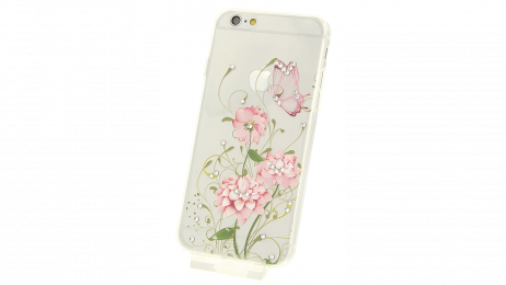 Plastový zadní kryt pro iPhone 6 a iPhone 6S s motivem květiny III.