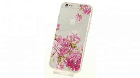 Plastový zadní kryt pro iPhone 6 a iPhone 6S s motivem květiny IV