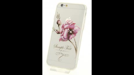 Plastový zadní kryt pro iPhone 6 a iPhone 6S s motivem růže II