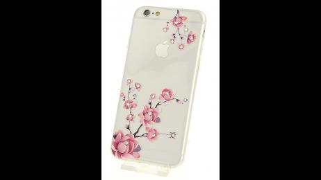 Plastový zadní kryt pro iPhone 6 a iPhone 6S s motivem růže III