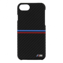 Pouzdro BMW M Carbon iPhone 7 černé