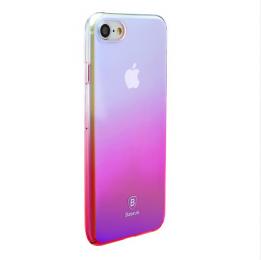 Pouzdro Baseus Glaze Case iPhone 7 růžové