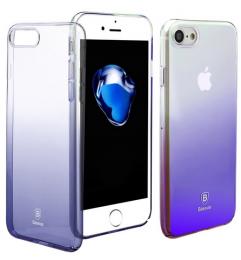 Pouzdro Baseus Glaze Case iPhone 7 fialové