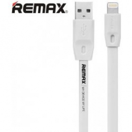 Remax Full Speed 2M iPhone 5/5S/6/6 Plus Datový Kabel bílý