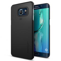 Pouzdro Spigen Thin Fit pro Samsung G928F Galaxy S6 Edge+ Black
