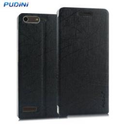 Pouzdro Pudini Sharp Book Huawei Y660 černé