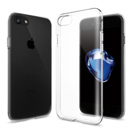 Pouzdro Spigen Liquid Crystal pro Apple iPhone 7 Clear