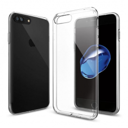 Pouzdro Spigen Liquid Crystal pro Apple iPhone 7 Plus Clear
