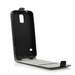 Pouzdro Slim Flip Flexi pro Samsung A700 Galaxy A7 Black