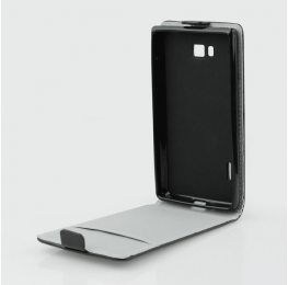 Pouzdro Slim Flip Flexi pro Samsung A300 Galaxy A3 Black