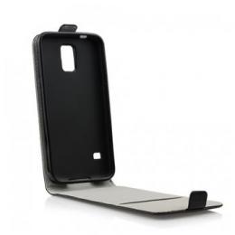 Pouzdro Slim Flip Flexi pro Samsung G920F Galaxy S6 Black