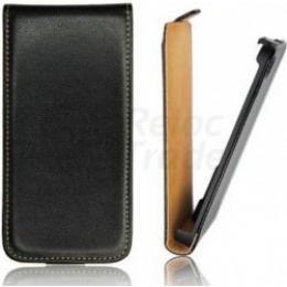 Pouzdro Slim Flip Flexi pro Samsung Star III Black