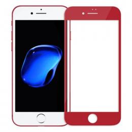 Nillkin Tvrzené Sklo 3D AP+ PRO pro Apple iPhone 7 červené