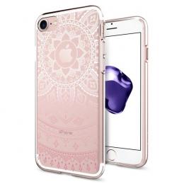 Pouzdro Spigen Liquid Crystal pro Apple iPhone 7 Shine Pink
