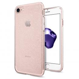 Pouzdro Spigen Liquid Crystal pro Apple iPhone 7/8 Glitter Rose