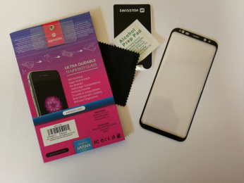 Swissten Tvrzené Sklo 3D H pro Samsung G955F Galaxy S8 Plus černé
