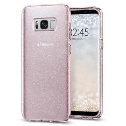 Pouzdro Spigen Liquid Crystal pro Samsung G955F Galaxy S8 Plus Glitter Rose