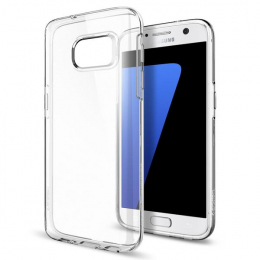 Pouzdro Spigen Liquid Crystal pro Samsung G930F Galaxy S7 Clear