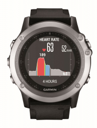 Garmin Fenix 3 HR Optic Silver