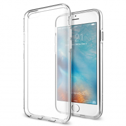 Pouzdro Spigen Liquid Crystal pro Apple iPhone 6/6S Clear