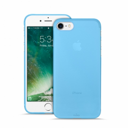 Pouzdro Puro Case 0.3 pro Apple iPhone 7 NEON modré