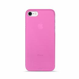 Pouzdro Puro Case 0.3 pro Apple iPhone 7 NEON růžové