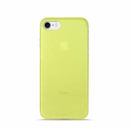 Pouzdro Puro Case 0.3 pro Apple iPhone 7 NEON zelené