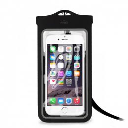 Pouzdro Puro Case SLIM Water černé - voděodolné pouzdro pro smartphony do velikosti 5.1