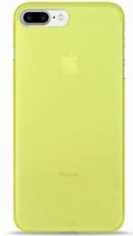 Pouzdro Puro Case 0.3 pro Apple iPhone 7 Plus NEON zelené