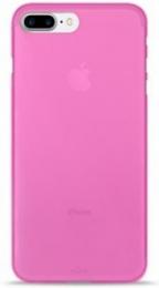Pouzdro Puro Case 0.3 pro Apple iPhone 7 Plus NEON růžové