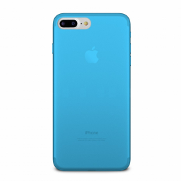 Pouzdro Puro Case 0.3 pro Apple iPhone 7 Plus NEON modré