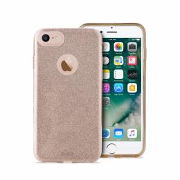 Pouzdro Puro Cover Shine pro Apple iPhone 7 zlaté