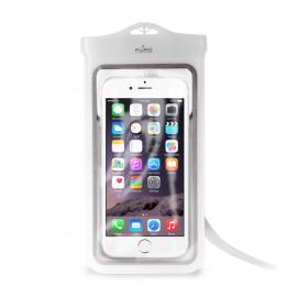 Pouzdro Puro Case Ultra SLIM Water XL bílé - voděodolné pouzdro pro smartphony do velikosti 5.7