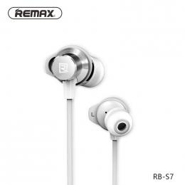 Remax RB-S7 Bluetooth sportovní sluchátka bílé