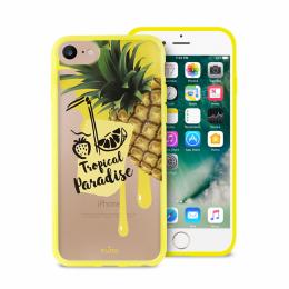 Pouzdro Puro Summer Juice Collection zadní kryt pro Apple iPhone 6/6S/7 motiv ananas