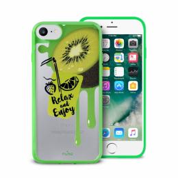 Pouzdro Puro Summer Juice Collection zadní kryt pro Apple iPhone 6/6S/7 motiv kiwi