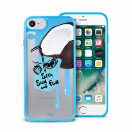 Pouzdro Puro Summer Juice Collection zadní kryt pro Apple iPhone 6/6S/7 motiv kokos