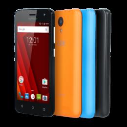myPhone GO Black + dva barevné zadní kryty