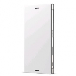 Pouzdro SCSG20 Sony Style Cover Flip Xperia XZs bílé