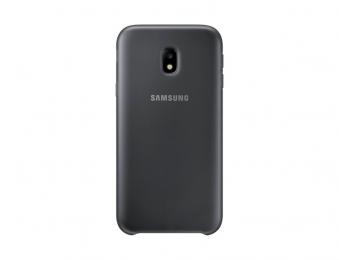 Pouzdro Samsung EF-PJ330CB Dual Layer Cover pro Galaxy J3 2017 černé