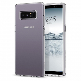 Pouzdro Spigen Liquid Crystal pro Samsung Galaxy Note 8 Clear
