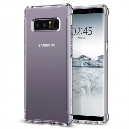 Pouzdro Spigen Rugged Crystal pro Samsung Galaxy Note 8 Clear