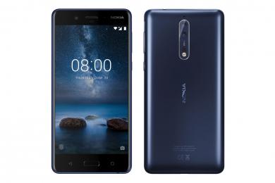 Nokia 8 Dual SIM 64GB LTE Tempered Blue