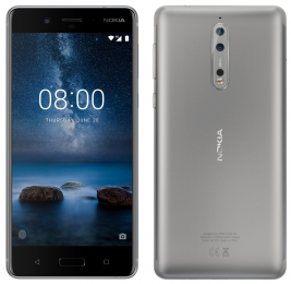 Nokia 8 Single SIM 64GB LTE Steel