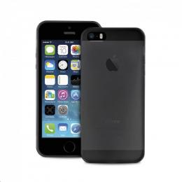Pouzdro Puro Case 0.3 pro Apple iPhone 5/5S/SE černé