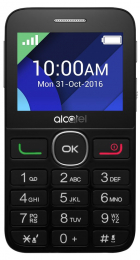 Alcatel One Touch 2008G Black/Silver