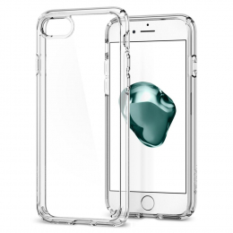 Pouzdro Spigen Ultra Hybrid 2 pro Apple iPhone 7/8 Clear