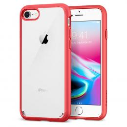 Pouzdro Spigen Ultra Hybrid 2 pro Apple iPhone 7/8 Red