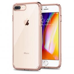 Pouzdro Spigen Ultra Hybrid 2 pro Apple iPhone 7/8 Plus Rose Crystal