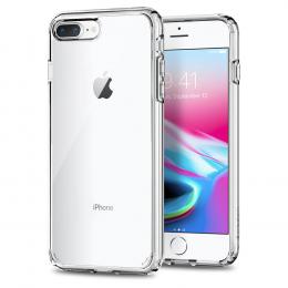 Pouzdro Spigen Ultra Hybrid 2 pro Apple iPhone 7/8 Plus Clear